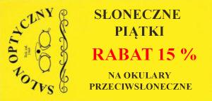 słoneczne piątki rabat optyk Warszawa
