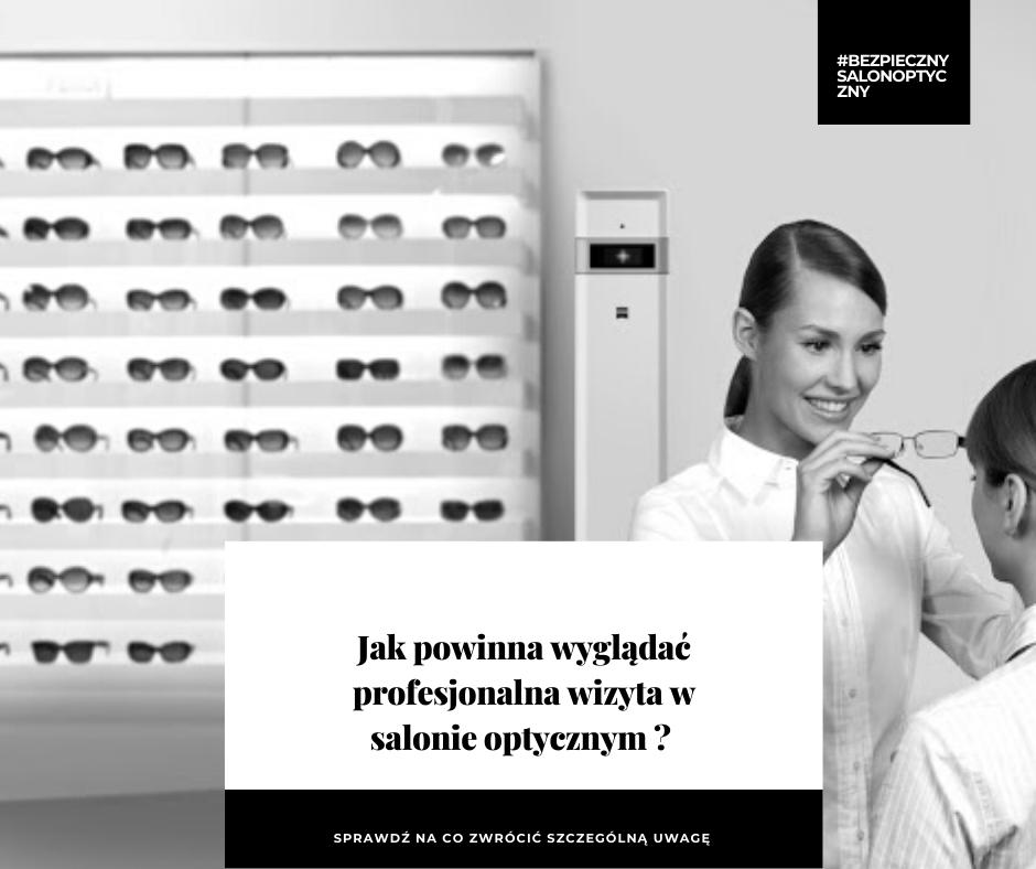 wizyta w salonie optycznym